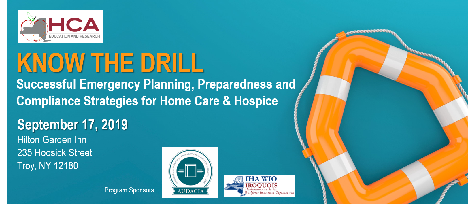 Register: Sept. 17 NYS Conference on Home Care, Hospice Emergency Preparedness